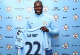 """Oficialu: """"Man City"""" papildė brangiausiu visų laikų gynėju tapęs B. Mendy"""