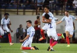 Šviesi ateitis: Anglijos rinktinė triumfavo ir U-19 čempionate (VIDEO)