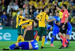 Lietuvos rinktinė įšoko į FIFA šimtuką