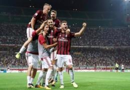 """Italijoje - įspūdingi įvarčiai bei """"Milan"""" ir """"Napoli"""" pergalės (VIDEO)"""