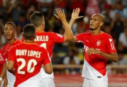 """K. Mbappe nuo suolo stebėjo kaip """"Monaco"""" daužo """"Marseille"""" (VIDEO)"""