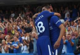 """Premier"" lygoje - užtikrinta ""Chelsea"" pergalė prieš ""Everton"" (VIDEO)"