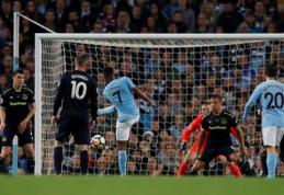 """""""Man City"""" ir """"Everton"""" dvikovoje - dvi raudonos kortelės bei kovingos lygiosios (VIDEO)"""