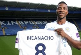 """Oficialu: """"Leicester"""" už 25 mln. svarų sterlingų įsigijo """"Man City"""" puolėją"""