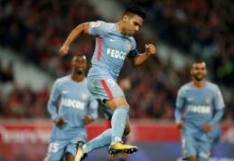 """""""Nice"""" sužaidė lygiosiomis, """"Monaco"""" su R. Falcao priešakyje sutriuškino """"Lille"""" (VIDEO)"""