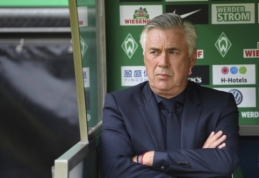 """C. Ancelotti giria """"Premier"""" lygos iniciatyvą trumpinti vasaros perėjimų langą"""