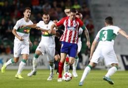 """""""Atletico"""" nesugebėjo pergalingai pradėti Karaliaus taurės turnyro (VIDEO)"""