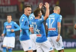 """""""Serie A"""" mačuose pergales šventė visi favoritai (VIDEO)"""