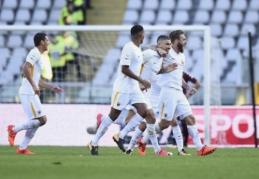 """Serie A: """"Milan"""" lygiosios, sostinės klubų pergalės ir neįtikėtinas S. Khediros hat-trickas (VIDEO)"""