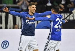 """""""Schalke"""" grįžo į pergalių kelią Vokietijos pirmenybėse (VIDEO)"""