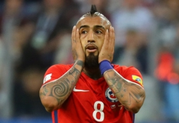 A. Vidalis persigalvojo - nesitraukia iš Čilės rinktinės