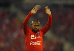 A. Vidalis pranešė apie karjeros pabaigą Čilės rinktinėje
