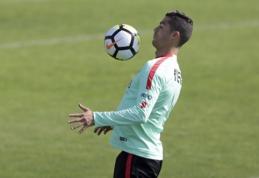 Šįvakar Lisabonoje - intriguojančios rungtynės tarp Portugalijos ir Šveicarijos