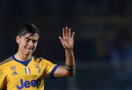 """P. Dybala dar turi šansų likti """"Juventus"""" gretose"""