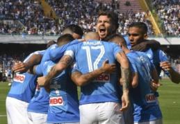 """Italijoje - triuškinančios """"Napoli"""" ir """"Lazio"""" pergalės"""", """"Inter"""" palaužė naujoką (VIDEO)"""