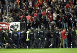 """""""Lille"""" įvartis vos nepražudė ekipos gerbėjų (VIDEO)"""