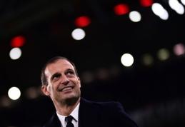 """M. Allegri: """"Napoli"""" yra favoritai laimėti """"Serie A"""" pirmenybes"""