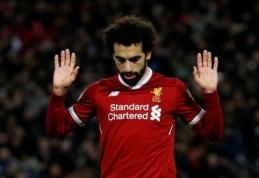 M. Salah užsikrėtė koronavirusu