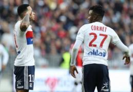 """""""Lyon"""" be gailesčio sudaužė """"Nice"""", """"Marseille"""" įveikė """"Guingamp"""" (VIDEO)"""