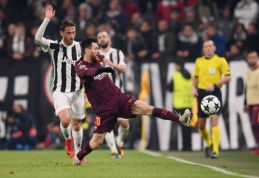 """""""Juve"""" ir """"Barca"""" išsiskyrė be įvarčių, """"Basel"""" netikėtai nugalėjo """"Man Utd"""", o A. Griezmannas pasiekė fantastišką įvartį (VIDEO)"""
