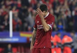 """J. Carragheris apie """"Liverpool"""" gynybą: lyg žiūrėčiau vaikų futbolą"""