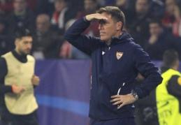 """Sevilla"" treneriui E. Berizzo diagnozuotas vėžys"