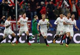 """ČL: """"Sevilla"""" išplėšė neįtikėtinas lygiąsias prieš """"Liverpool"""", """"Real"""" subombardavo kipriečių vartus (VIDEO)"""
