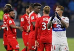 """""""Nice"""" ir """"Lyon"""" neįveikė savo varžovų, """"Marseille"""" išplėšė lygiąsias prieš """"Bordeaux"""" (VIDEO)"""