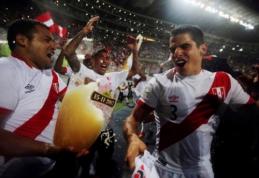 Paskutine PČ dalyve po daugiau nei trijų dešimtmečių tapo Peru (VIDEO)