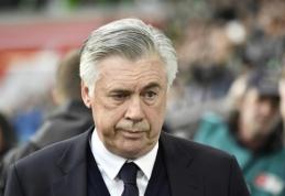 C. Ancelotti - pagrindinis kandidatas perimti Italijos rinktinės trenerio vairą iš G. Venturos