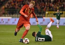 K. De Bruyne sukritikavo R. Martinezo žaidimo taktikas
