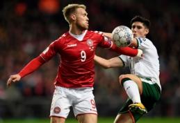 Danija ir Airija išsiskyrė be įvarčių, DKK liko be pasaulio čempionato (VIDEO)