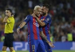 J. Alba: žaisti be Neymaro man sekasi daug geriau