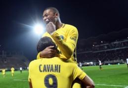 """Prancūzijoje - triuškinančios PSG ir """"Monaco"""" pergalės (VIDEO)"""