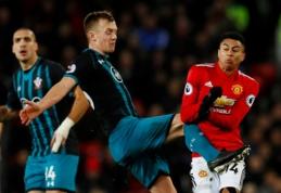 """Anglijoje - trečios """"Man Utd"""" lygiosios iš eilės (VIDEO)"""