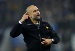 P. Guardiola: keturių titulų nelaimėsime