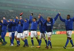 """Vokietijos taurės aštuntfinalyje """"Schalke"""" įveikė """"Koln"""" barjerą (VIDEO)"""