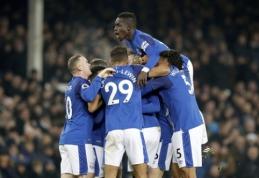 """""""Everton"""" namuose įrodė pranašumą prieš """"Swansea"""" (VIDEO)"""