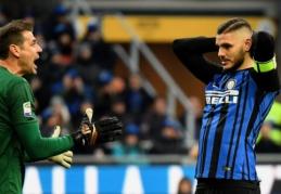 """""""Napoli"""" aplenkė pralaimėjusį """"Inter"""", """"Roma"""" pergalę išplėšė pabaigoje (VIDEO)"""