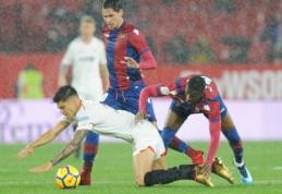 """""""Sevilla"""" namuose nesugebėjo pralaužti """"Levante"""" gynybos"""