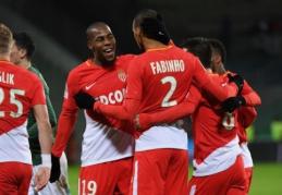 """""""Monaco"""" išvykoje sudaužė """"Saint-Etienne"""" (VIDEO)"""