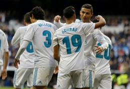 """""""Real"""" pirmajame kėlinyje subombardavo """"Sevilla"""", """"Valencia"""" išplėšė svarbią pergalę (VIDEO)"""