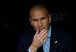 """Z. Zidane'as prieš """"Sevilla"""" bus priverstas verstis be keturių pagrindinių žaidėjų"""