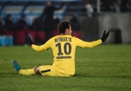 """Prancūzijoje - pirmoji PSG nesėkmė bei """"Monaco"""" ir """"Nice"""" pergalės (VIDEO)"""
