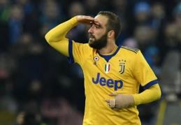 """Į """"Stadio San Paolo"""" sugrįžęs G. Higuainas išrašė """"Napoli"""" pirmąjį pralaimėjimą (VIDEO)"""