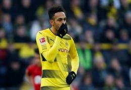 """Spauda: """"Arsenal"""" pasiekė susitarimą su """"Borussia"""" dėl P. Aubameyango išpirkos kainos"""