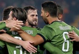 """""""Juventus"""" palaužė """"Chievo"""" ir bent trumpam pakilo į pirmąją vietą (VIDEO)"""