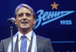 R.Mancini sulaukė skambučio, bet ne iš PSG