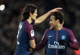 """""""Ligue 1"""": """"Lyon"""" laimėjo, PSG su pokerį pelniusiu Neymaru surengė įspūdingą šou (VIDEO)"""
