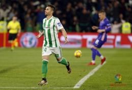 """Rezultatyvioje dvikovoje """"Real Betis"""" palaužė """"Leganes"""" (VIDEO)"""